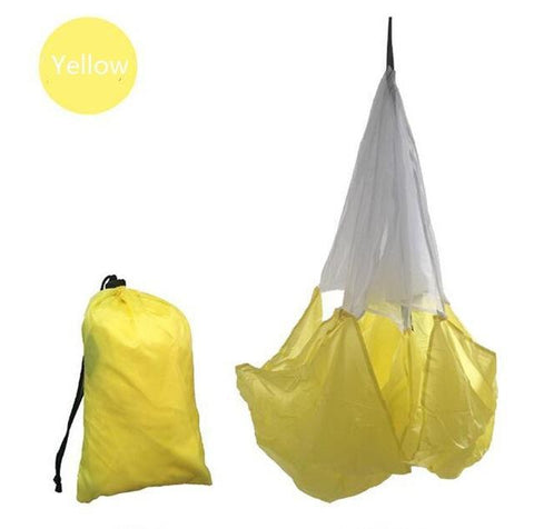 The Elegance Store Speed Yellow Long Speed Training Resistance Parachute.