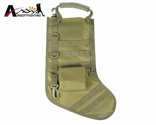 The Elegance Store stocking bag OD Tactical Christmas Stocking Bag
