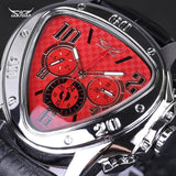 The Elegance Store watch Red Luxury Power Watch