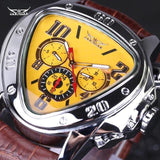 The Elegance Store watch Yellow Luxury Power Watch