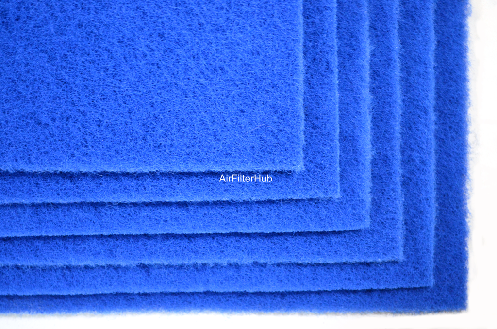 poly flo polyester filter pads for air water pond 6 pack