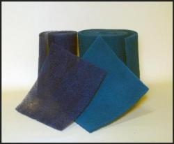 Our Hog Hair Media Is Design With A Coated Natural Fiber Bonded Together On The Intake Side Scrim Backing Added To Downstream For Strength