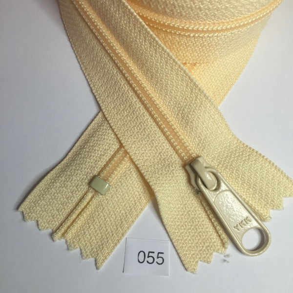 YKK zip #4.5 handbag pull 30in 0055 Mango Smoothie IN STOCK