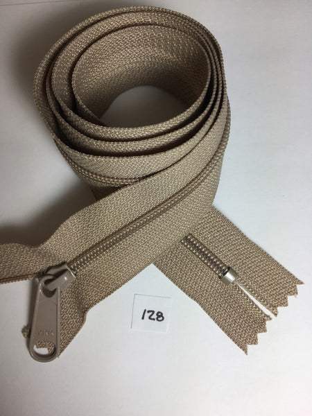 YKK zip #4.5 handbag pull 30in 0128 Another Beige IN STOCK