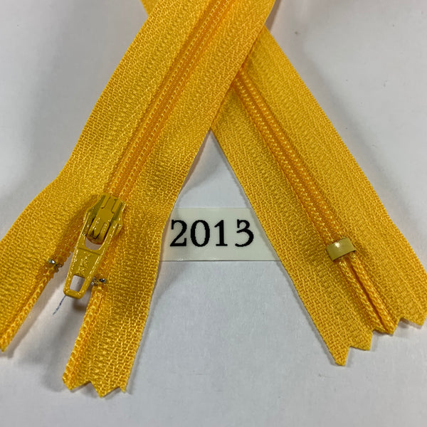 YKK zip #3 RegPull 14in 2013 IN STOCK