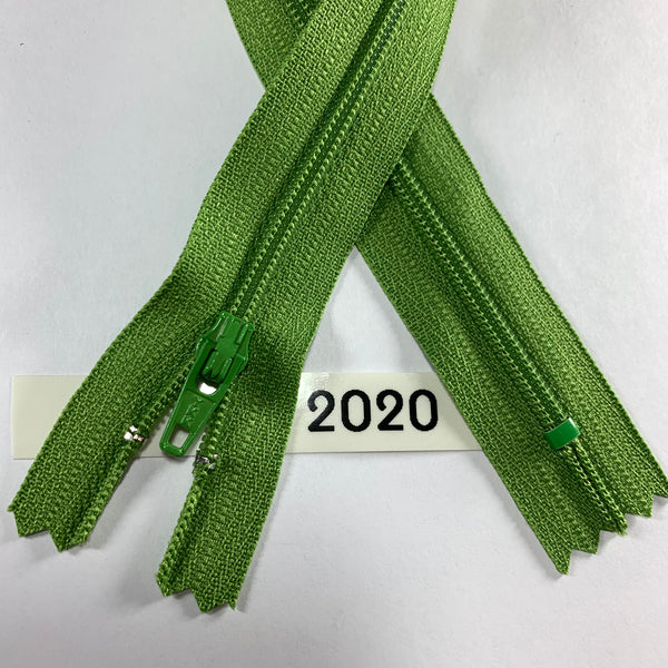 YKK zip #3 RegPull 14in 2020 IN STOCK