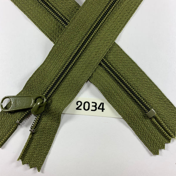 YKK zip #4.5 handbag pull 30in 2034 IN STOCK