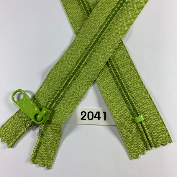 YKK zip #4.5 handbag pull 30in 2041 IN STOCK