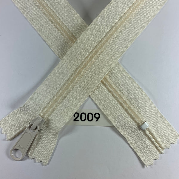 YKK zip #4.5 handbag pull 30in 2009 IN STOCK