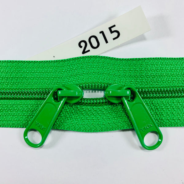 YKK zip #4.5 double handbag pull 40in 2015 IN STOCK