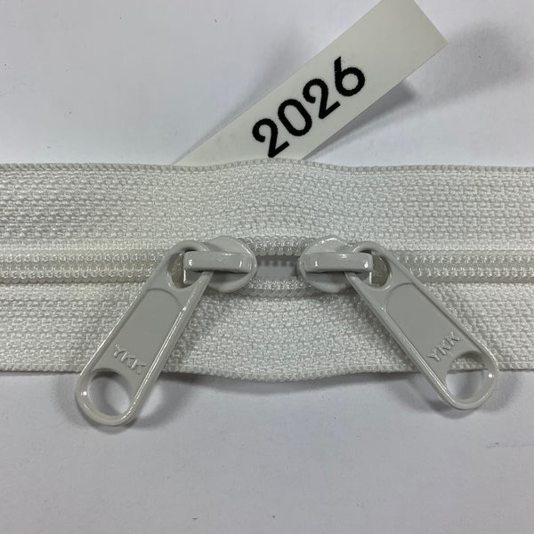 YKK zip #4.5 double handbag pull 40in 2026 IN STOCK
