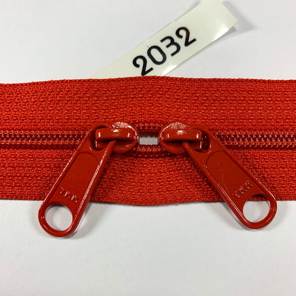 YKK zip #4.5 double handbag pull 40in 2032 IN STOCK