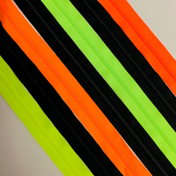 "22"" Fluorescent Bundle 4 colors #3 single locking pull"