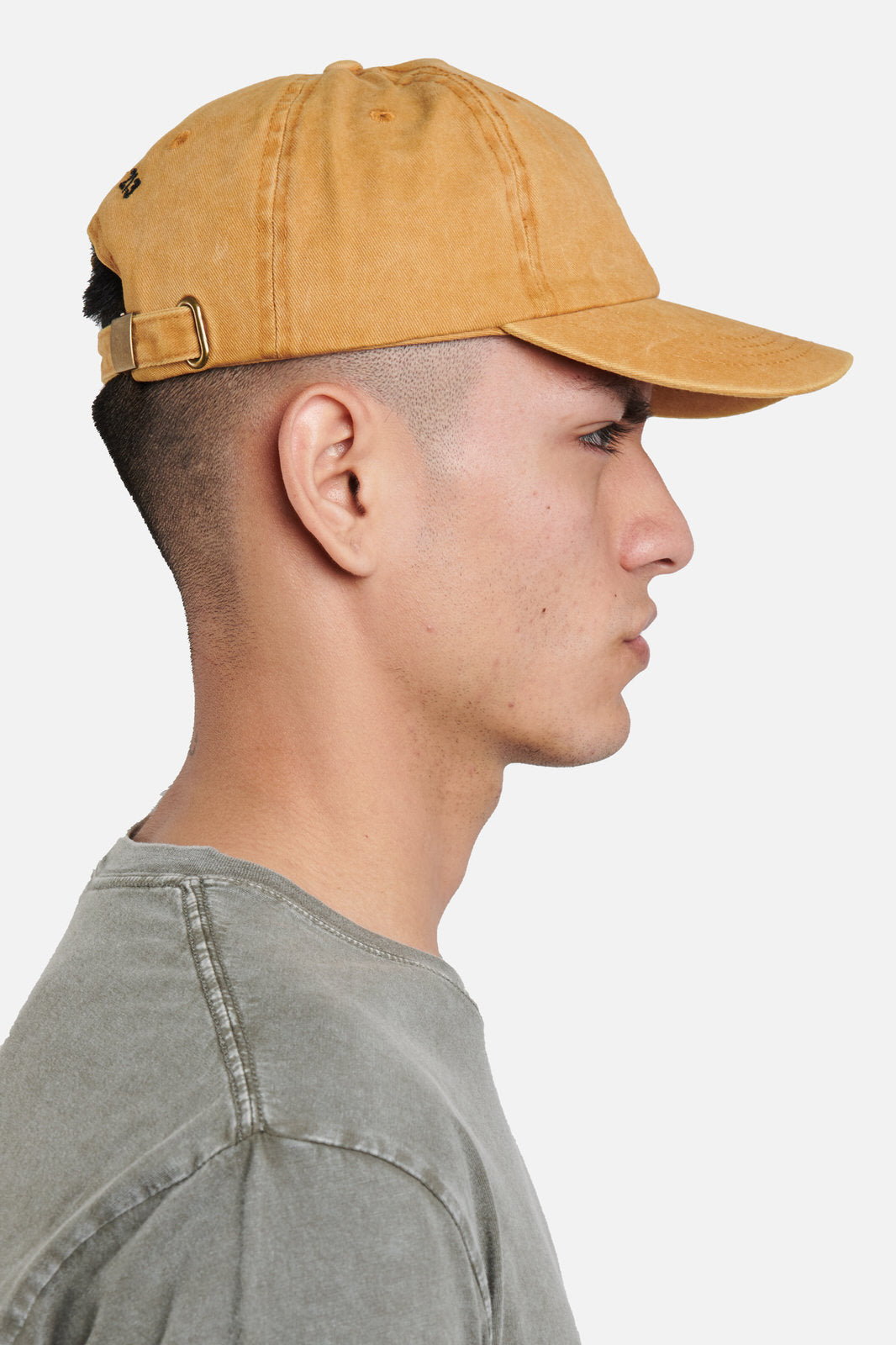 melrose article 7 pigment dyed logo hat - scrt society