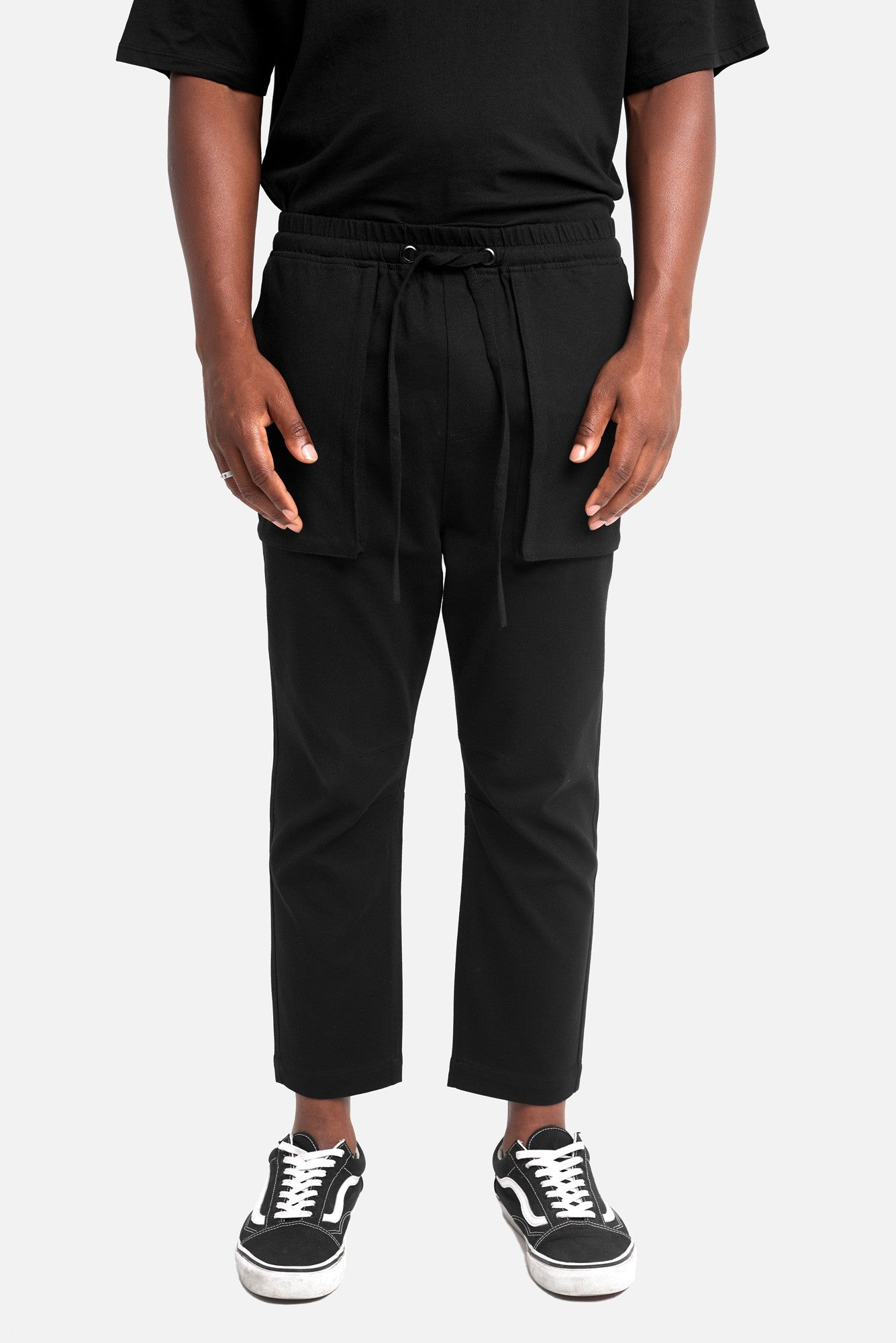 chico article 3 cropped trousers - scrt society