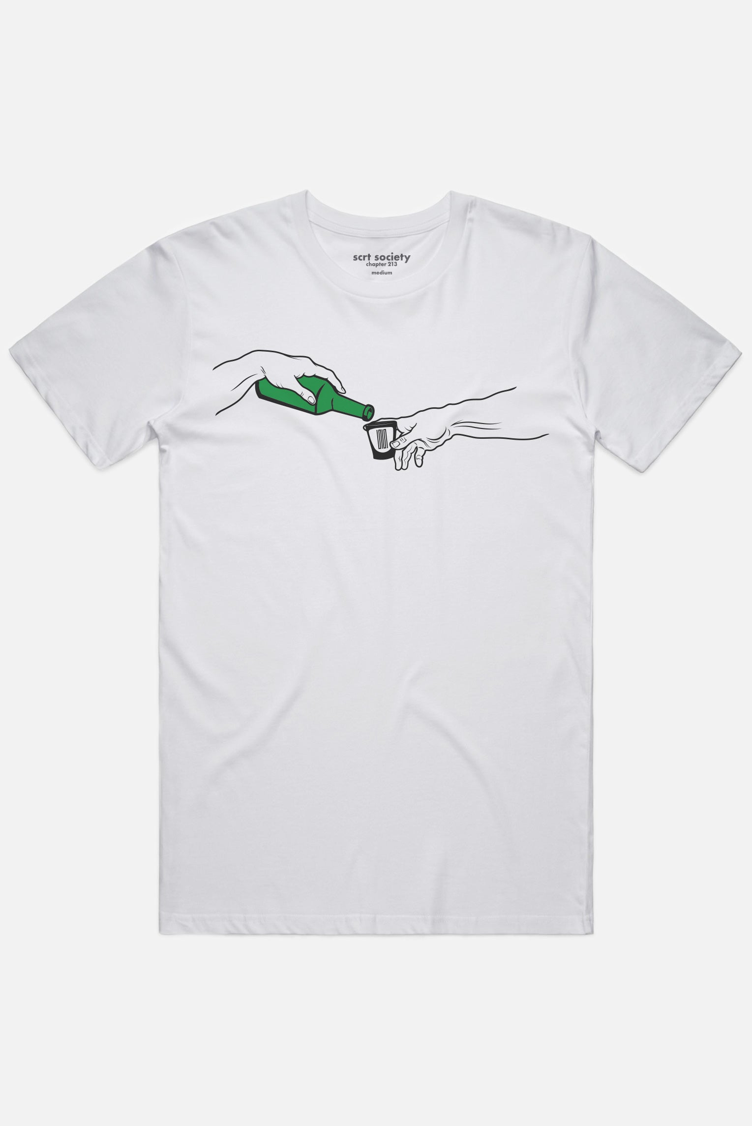 creation of soju tee - scrt society