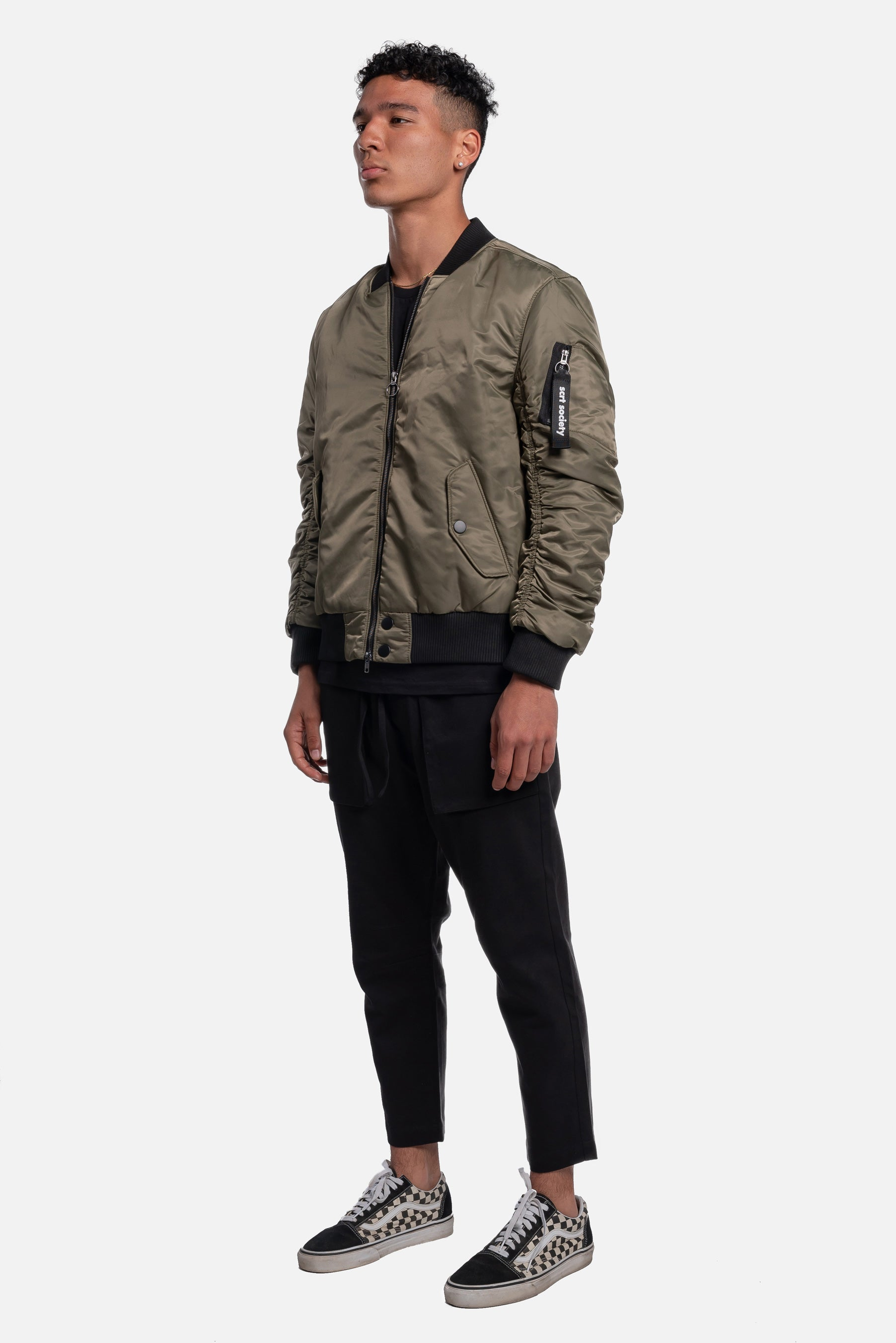 alpine article 5 ma-1 flight jacket - scrt society