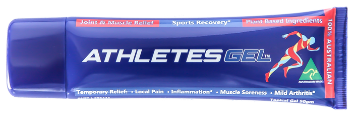 Athletes Gel 50g - Natural Topical Arthritis, Pain & Sports Gel- free post