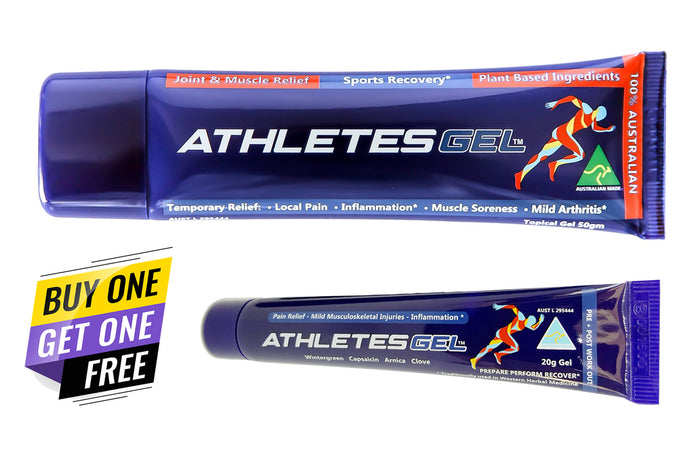 Athletes Gel 50gm + 20gm - Buy 1 Get 1 Free - Limited Offer