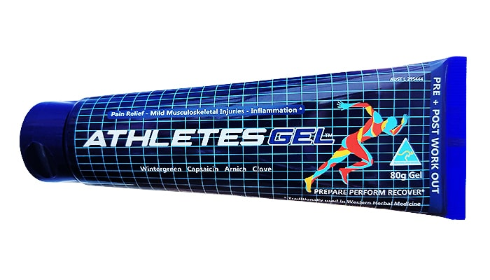 Athletes Gel 80g - All Natural Topical Heat Gel
