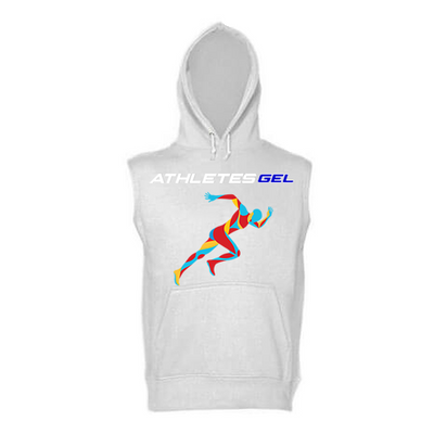 Athletes Gel Unisex Sleeveless Hoodie