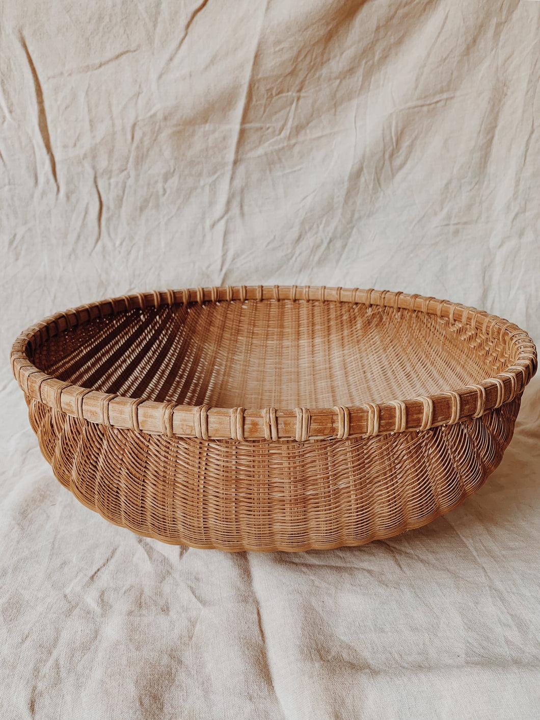 Wicker Bowl