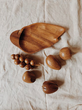 Kids Teak Wood Fruit Set