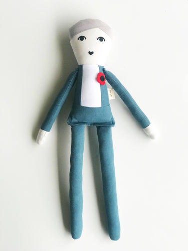 Gord Downie Cloth Doll