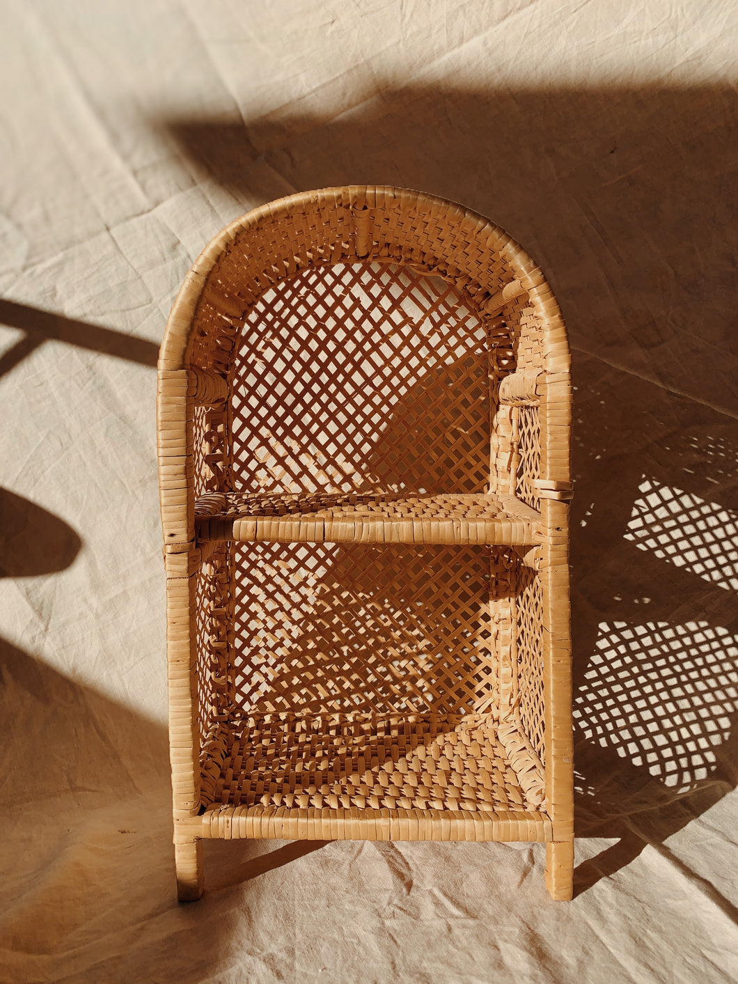 Miniature Wicker Shelf