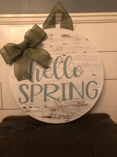 Spring Door Hanger Workshop 3/7/2020