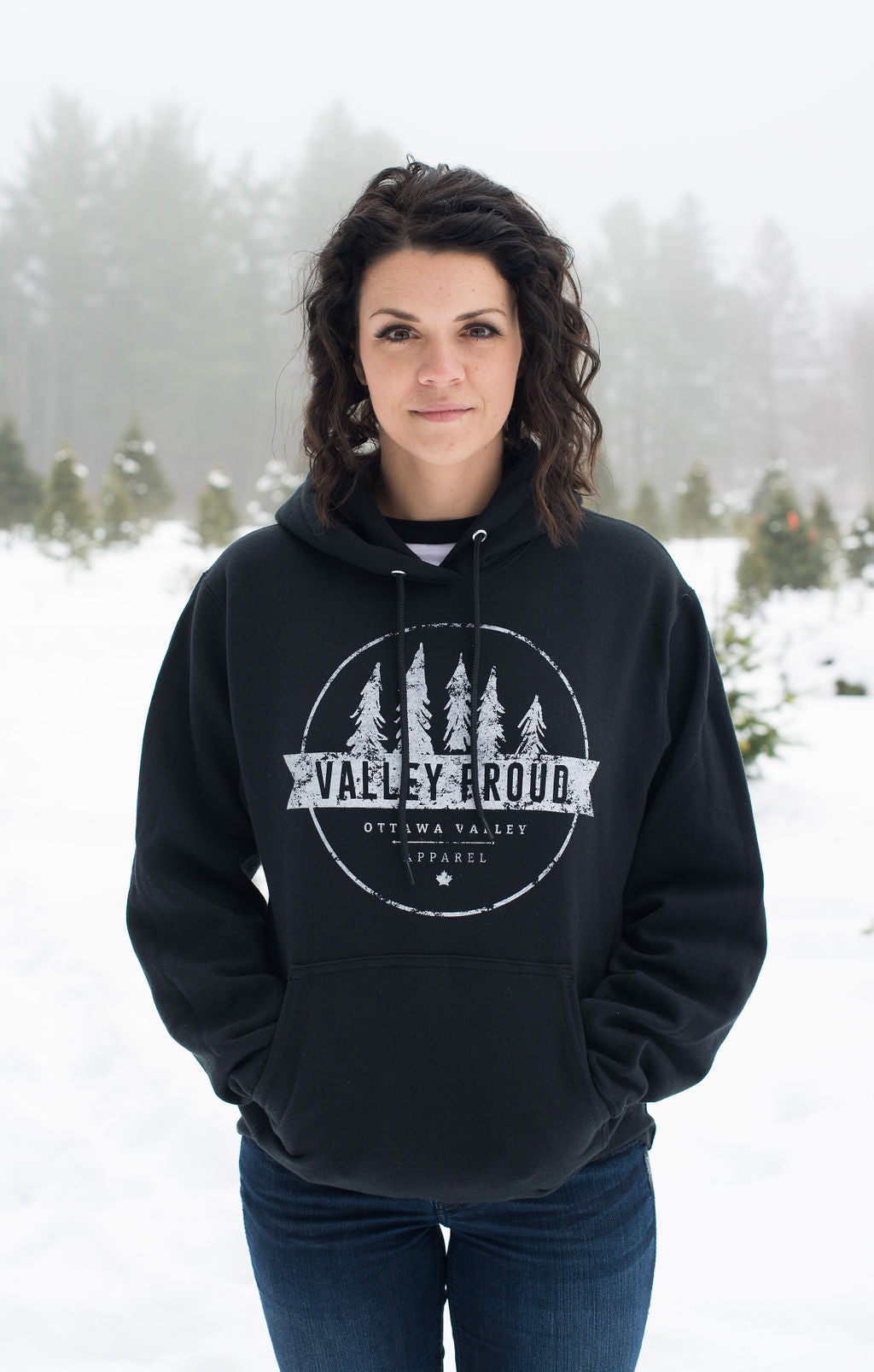 Classic Valley Proud Hoodie - Black