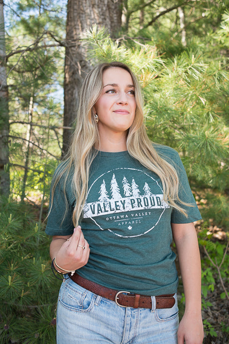 Valley Proud Tee - Forest Green