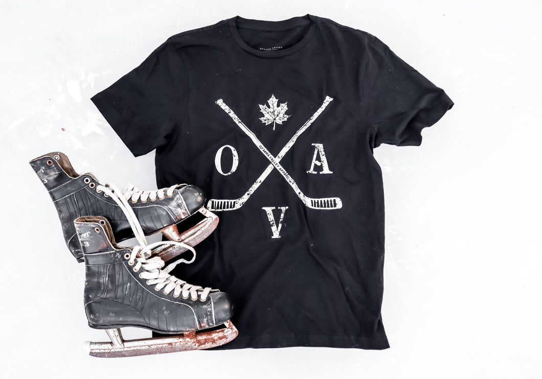 OVA Hockey Heritage Tee - Black
