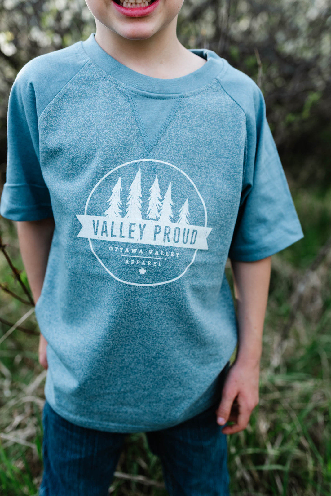 Valley Proud Toddler Tee - Blue