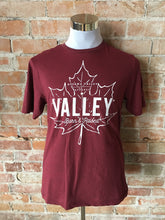 Valley Born & Raised Tee - Burgundy