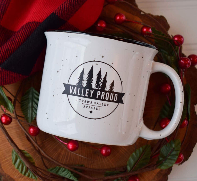 Classic Valley Proud Ceramic Mug - White