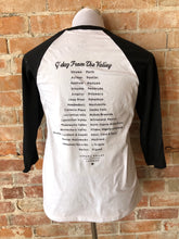 G'Day From The Valley Baseball Tee - Black & White