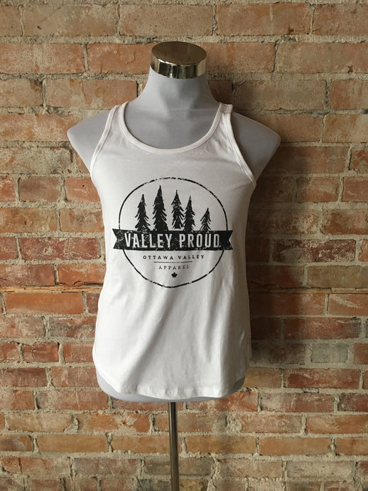 Classic Valley Proud Tank - White