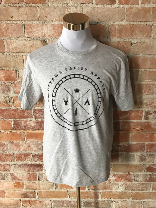 OVA Outdoors Tee - Light Grey