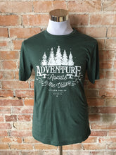 Adventure Awaits Tee - Forest Green