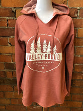 Classic Valley Proud Women's Luxe Hoodie - Rose
