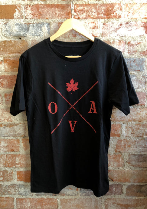 OVA Arrow Tee - Black