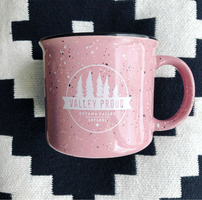 Classic Valley Proud Ceramic Mug - Pink
