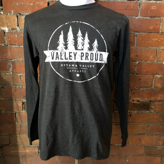 Classic Valley Proud Long Sleeve - Charcoal Grey