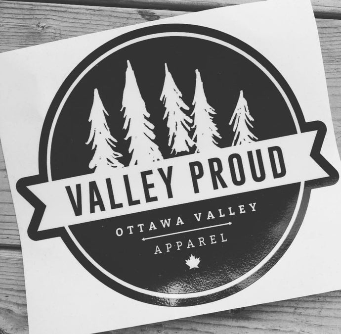 Classic Valley Proud Vinyl Decal
