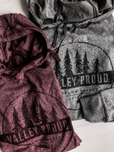 Classic Valley Proud Hooded Long Sleeve - Burgundy