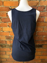 River Women's Tank - Navy