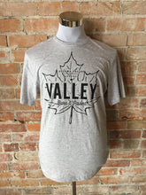 Valley Born & Raised Tee - Light Grey
