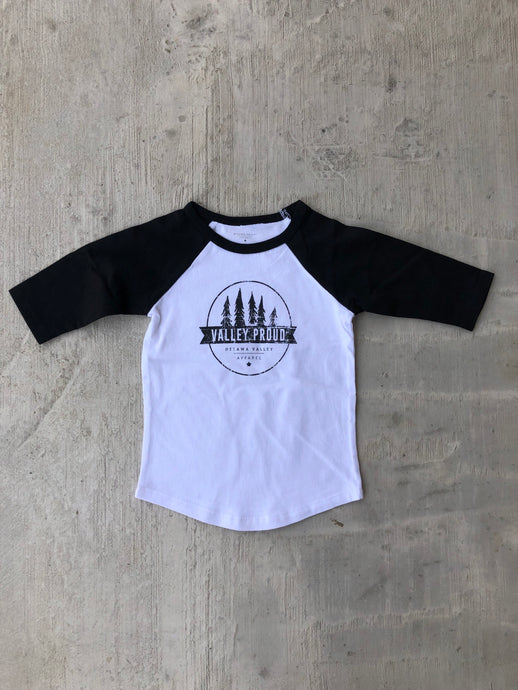 Classic Valley Proud Toddler Baseball Tee