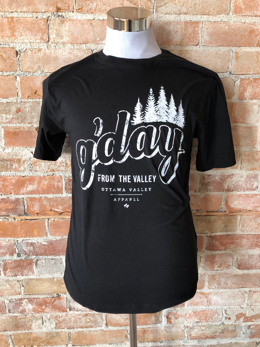 G'Day From The Valley Tee - Black